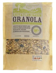 4 Nut & Flame Raisin Granola 500g