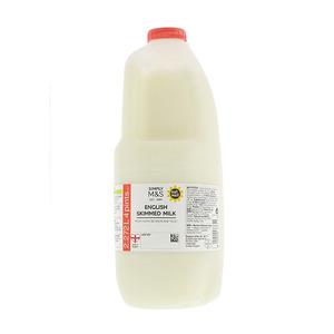 British Skimmed Milk 4 Pints 2.3L