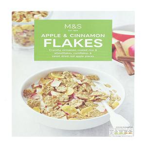 Apple & Cinnamon Flakes 400g