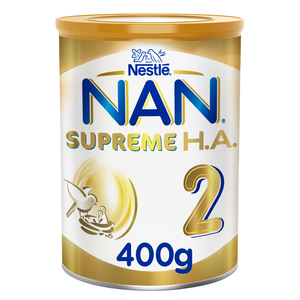 Nestle NAN Supreme H.A. Stage 2 Hypoallergenic Follow-Up Formula For  6 To 12 Months 400g