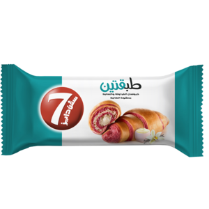 7Days Double Strawberry & Vanilla Croissant With Vanilla Filling 90g