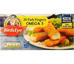 Birds Eye Fish Finger With Omega 3 560g