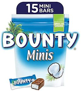 Bounty Minis Milk Chocolate Mini Bars Pouch 399g