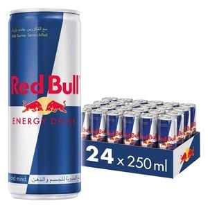 Red Bull Energy Drink Carton Pack 24x250ml