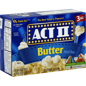 Act II Popcorn Butter Microwaveable 255g