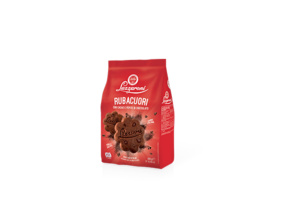 Ruba Cuori Cocoa With Chocolate Chip Biscuits Bag 300g
