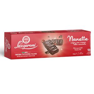 Nanette Wafers With Chocolate And Hazelnut Cream 100g
