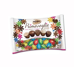 Assorted Colorful Chocolate Eggs Bag 500g