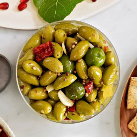 Green Olive Spicy Morocco 250g