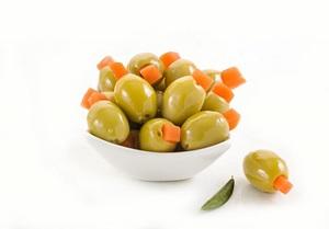 Green Olive Stuffed Carrot 100g