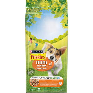 Purina Friskies Mini (>10Kg) Dog Food With Chicken & Vegetables 2kg