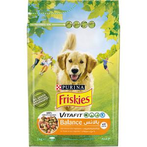Purina Friskies Balance Dog Food With Chicken & Vegetables 3kg