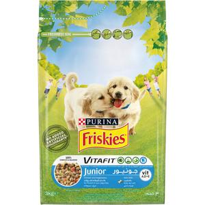Purina Friskies Junior Dog Food With Chicken & Vegetables 3kg