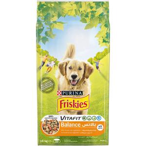 Purina Friskies Balance Dog Food With Chicken & Vegetables 10kg