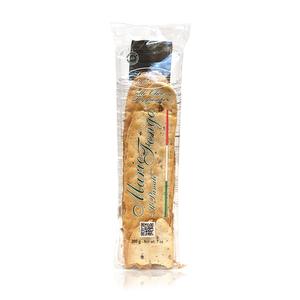 Mario Fongo Flat Bread W Taggiasca Olives 200g