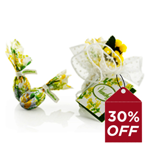Venchi Mimosa Small Bag Chocolate With Toasted Grained Cocoa Nibs 33g30%Off