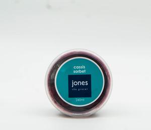 Jones Cassis Sorbbet 240ml