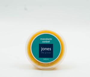 Jones Mandarin Sorbet 240ml