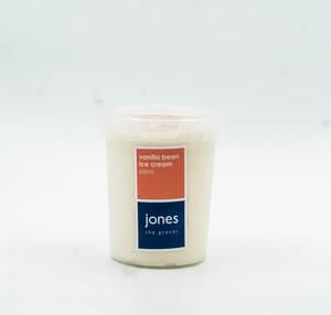 Jones Vanilla Bean Ice Cream 600ml