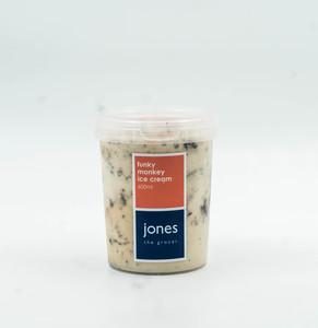Jones Funky Monkey Ice Cream 600ml