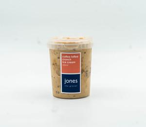 Jones Coffee Toffee Crunch Ice Cream 600ml