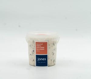 Jones Coconut Cherry Chocolate Ice Cream 600ml