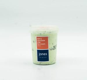 Jones Mint And Chocolateolate Chip Ice Cream 600ml