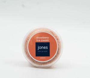 Jones Strawberry Ice Cream 240ml