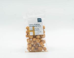 Jones Honey Roasted Macadamia 100g