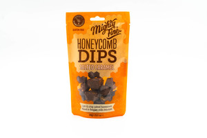Mighty Fine Salted Caramel Honeycomb Dips Gluten Free 90g