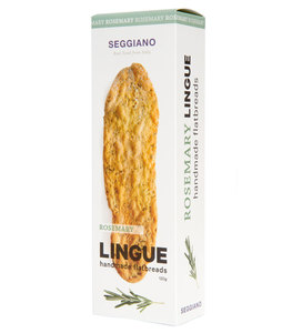 Seggiano Rosemary Tongue Biscuits Vegan 120g