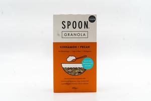 Spoon Cereal Cinnamon & Pecan Granola 400g