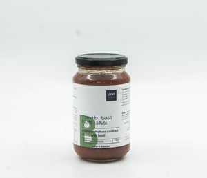 Jones Tomato And Basil 300g