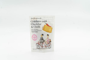 Fcc  Cheddar & Chilli Crackers 45g