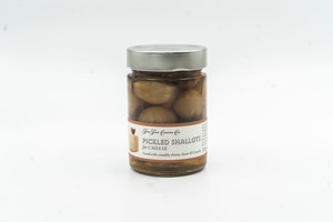 The Fine Cheese Co Pickled Shallots 340g