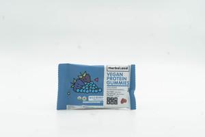 Herbaland Protein Gummies Wild Berry Gluten Free & Vegan 27g