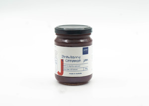 Jones Strawberry & Cinnamon Jam Gluten Free 290g