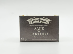 Tartuflanghe Black Truffle Grey Salt 100g
