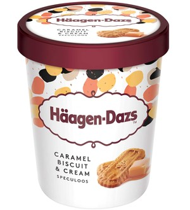 Haagen-Dazs Caramel Biscuit & Cream 460ml