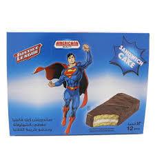 Americana Sandwich Cake Choco Batman 12x35g
