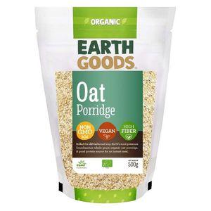 Earth Goods Organic High Fibre Oat Porridge Vegan Gmo Free 500g