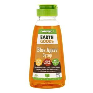 Earth Goods Organic Blue Agave Syrup Gmo Free Chemical Free 350g