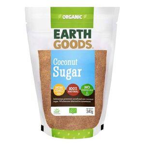 Earth Goods Organic Coconut Sugar Chemicals Free Gmo Free 340g