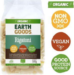 Earth Goods Organic Rigatoni 500g