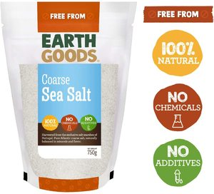 Earth Goods Organic Sea Salt Coarse 750g