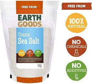 Earth Goods Organic Sea Salt Coarse 750g