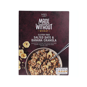 Made Without Wheat Glutenfree Salted Date & Banana Granola 360g