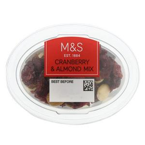 Cranberry & Almond Mix 70g