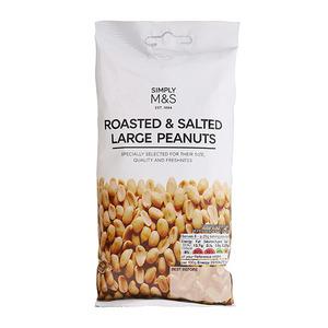 Roasted & Salted Large Peanuts 200g