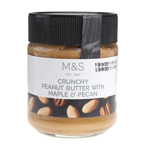Peanut Butter With Maple Pecan Crunch 227g